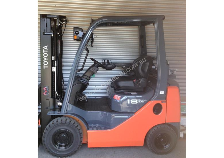New 2013 Toyota 32-8FG18 Counterbalance Forklift in