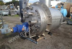 Chemical Plant Engineering SS Mixing Tank