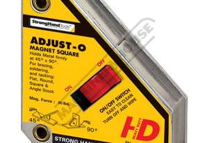 MSA46HD Adjust-O Magnet Square - Heavy Duty 111 x 95 x 29mm 40kg Pull Force