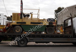 P-125-r , ingersoll rand , multi tyred roller ,