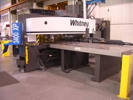 Haco/Whitney 3400XP CNC Punch/Plasma Combination - picture2' - Click to enlarge