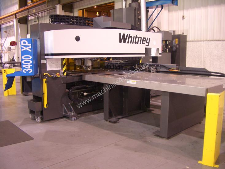 Haco/Whitney 3400XP CNC Punch/Plasma Combination