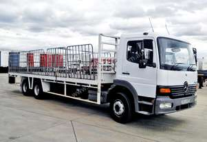 2002 MERCEDES-BENZ 6X2 ATEGO 2328 TRAY TRUCK FOR S