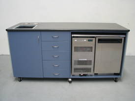 Mobile Refrigerated Kitchen Preparation Bench