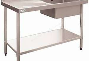Stainless Steel Single Bowl Sink LH Drainer DN752