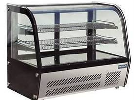 Polar GC872-A - Curved Glass Countertop Display Cabinet 100Ltr - picture0' - Click to enlarge