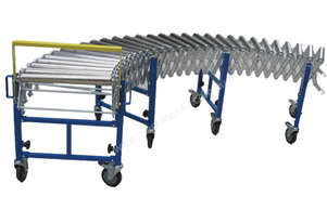Heavy Duty Steel Wheel Expandable Conveyor 600mm Width