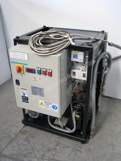 Industrial Hydraulic Oil Cooler : Used pfannenberg industrial water oil liquid chiller air