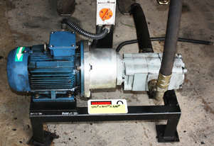3 Phase Motor & Hydraulic Gear Pump 3kw