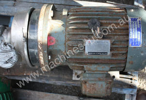 Agena ST 402 D100L stainless chemical pump 4KW