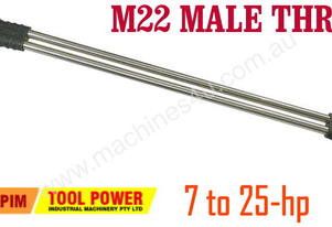 Dual Lance with stainless steel tips AND variable