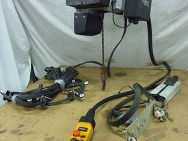 Used Demag Electric Chain Hoist - picture0' - Click to enlarge