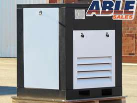 Silenced Screw Air Compressor 415Volt 20HP 80CFM 116PSI - picture2' - Click to enlarge