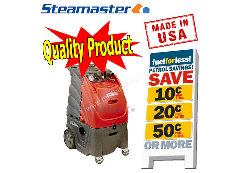 500PSI Dual 3Stage Sandia Carpet Steam Extractor
