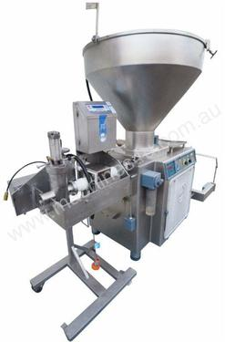 Filler with LOMA Metal Detector and bin lifter