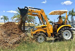 Eastwind DFS454 - 45HP Utility Tractor with 4 in 1 loader