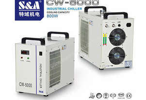 S&A CW-5000 REFRIGERATED INDUSTRIAL CHILLER
