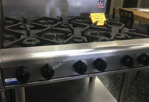 Waldorf 6 Burner Cooktop On Stand RN8600G-LS