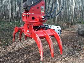 Vosch rotating excavator grapples - picture0' - Click to enlarge