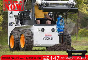 3000 MAX SSL suit Skid Steer Loaders up to 50HP ATTAGT