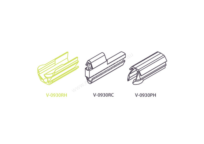CONNECTORS DETACHABLE / RELEASABLE 9 x 30MM SUIT 16MM BOARD OR THICKER BOX 1000 SUIT AB181 7905025 O