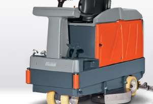 Hire warehouse cleaning scrub machine from Cleanaux.