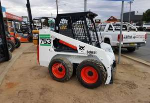 Bobcat 753 Skid steer including 4 in 1 bucket - Newly serviced and painted.