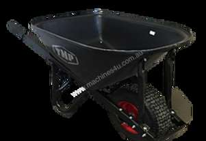 TMP LONG HANDLE POLY TRAY F/F WIDE WHEEL BARROW