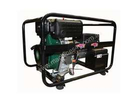 Dunlite 3 Phase 6.8kVA Diesel Generator with Elec Start - picture2' - Click to enlarge