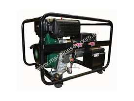 Dunlite 3 Phase 6.8kVA Diesel Generator with Elec Start - picture9' - Click to enlarge