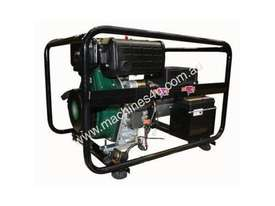 Dunlite 3 Phase 6.8kVA Diesel Generator with Elec Start - picture13' - Click to enlarge