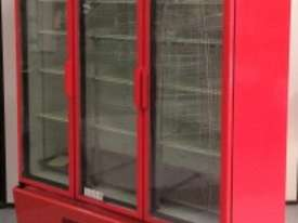 USED ORFORD 3 DOOR UPRIGHT FRIDGE MODEL : BM 45E-C - picture0' - Click to enlarge