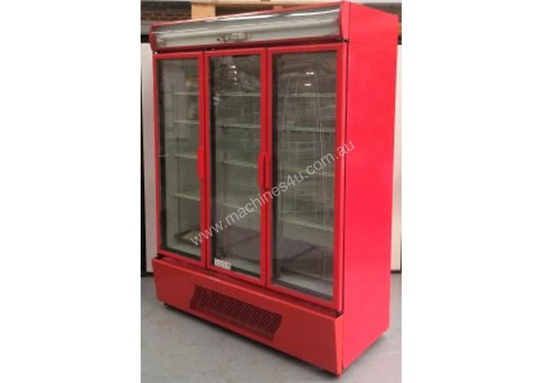 USED ORFORD 3 DOOR UPRIGHT FRIDGE MODEL : BM 45E-C