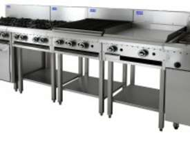 Luus Essentials Series 900 Wide Cooktops 6 burners & shelf - picture2' - Click to enlarge