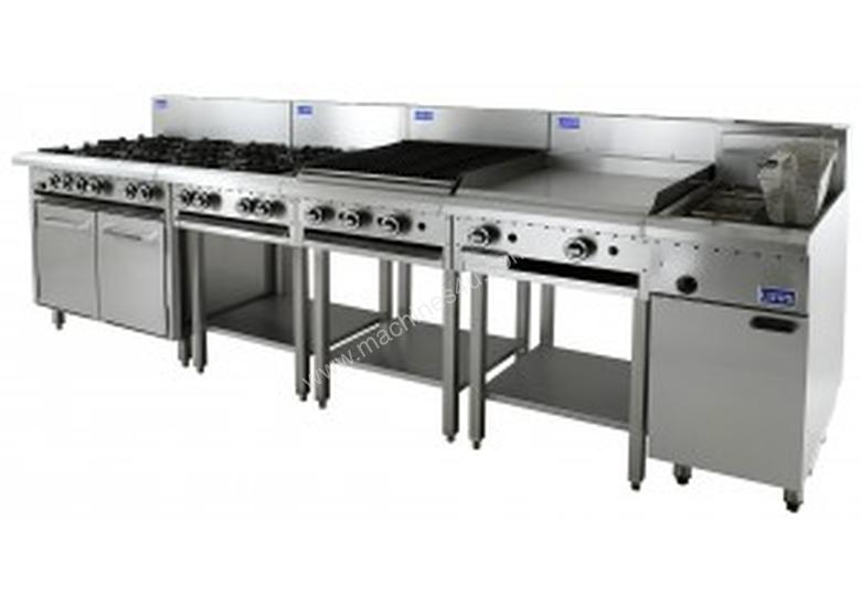 Luus Essentials Series 900 Wide Cooktops 6 burners & shelf