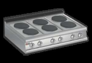 Baron 7PC/E120 Six Burner Bench Model Electric Cook Top