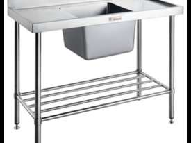 KSS 1800mm Double Sink w/ splashback & Adjustable Pot Rack - picture1' - Click to enlarge