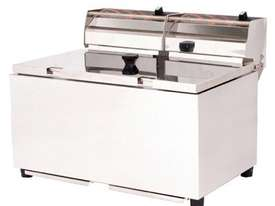 Woodson W.FRT80 Double Pan Fryer - 8 Litres - picture1' - Click to enlarge