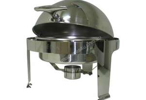 Chef Inox 54962 Stackable Roll Top Chafer Round