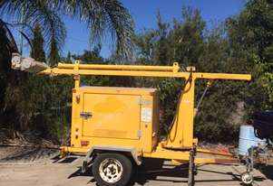 SE Power Equipment Metrolite Lighting Tower Trailer
