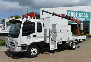 2006 ISUZU FRR 550 Service Vehicle