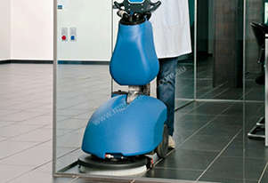 COMPACT WALK BEHIND SCRUBBER DRYER