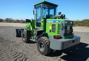 New Schmelzer 920 front end loader with gp bucket and forks