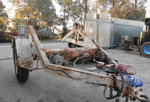 Static Engineering 3 ton cable drum carrier ,