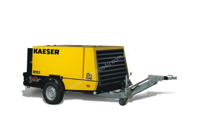Brand New Kaeser M122, 400cfm Diesel Air Compressor