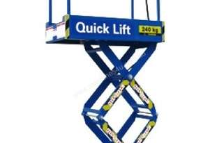 QUICK LIFT 6ft Push around Scissor Lift