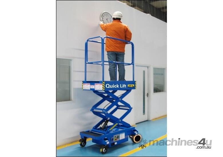 6ft Push around Scissor Lift