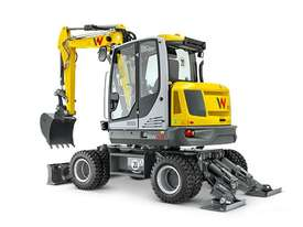 EW65 Wheeled Excavator - picture2' - Click to enlarge