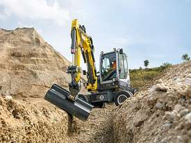 EW65 Wheeled Excavator - picture0' - Click to enlarge