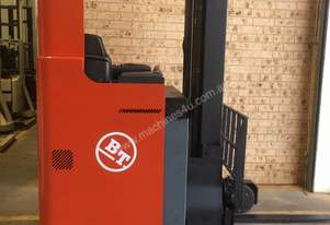 TOYOTA BT Reach Truck 1.4ton 5.4m Side Shift Low 6000 HRs 2010 Roll Out Batt A1!